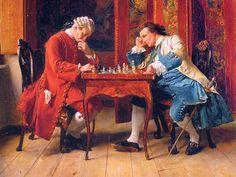 Jean-Louis Ernest Meissonier: Los jugadores de ajedrez (1815-1891)