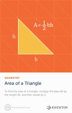 Equilateral, isosceles, or scalene? Learn how to find the area of any triangle for free on https://www.knewton.com/personalized-lessons/math/2015-09/ today. #Knewton #math #resources #flashcard #geometry #area #triangle #base #lheight #equation #education #teacher #teaching #learning #student #tutoring