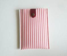 Pink Stripe Kindle Paperwhite Case