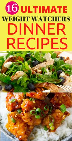 16 Ultimate Weight Watchers Dinner Recipes that Will Blow You You Away. Looking for super healthy and delicious weight watchers dinner recipes that will wow you. These cool recipes are so awesome and they are worth pinning for later. Weight Watcher Dinners, Weight Watchers Diet, Easy Healthy Recipes, Healthy Food, Healthy Eating, Dinner Reciepes, Recipes For Beginners, Food Ideas, Menu