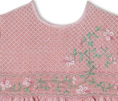Learn how to create a ribbon stitch with this step-by-step tutorial from Australian Smocking & Embroidery.
