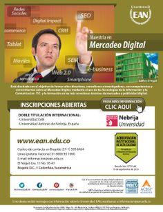 Hoy dimos a conocer la #MaestríaMD de doble titulación internacional con @Nebrija Universidad en #iabdayco. University, Getting To Know, Social Networks, Universe, Tecnologia