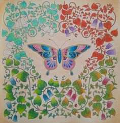 Magical jungle, Johanna Basford, Koh-i-noor Aquarell colored pencils