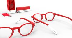 Pantone Reading Glasses by Afternoon - The famous brand, Pantone, presents its very first collection of reading glasses and sunglasses. Colorful, stylish and original, Pantone's eyewear shows its colors !