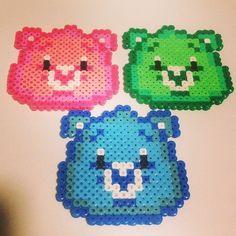Care Bears perler beads by melanieejane