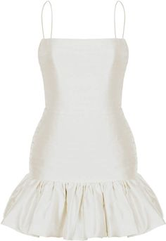 Rasario Low-Back Silk Mini Dress - Fashion Ideas Stage Outfits, Kpop Outfits, Mode Outfits, Classy Outfits, Chic Outfits, Elegant Dresses, Pretty Dresses, Silk Mini Dress, Mini Dress Formal