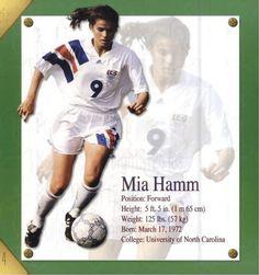 mia hamm soccer quotes - Google Search