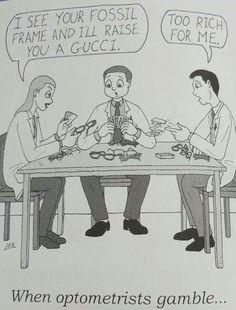 Optometry humor - too funny...                                                                                                                                                                                 More