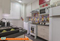 Apartamento Decorado Parque Bosque dos Girassóis em Birigui / SP | por mrv.engenharia