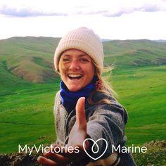 """Marine et la SEP : """"On oublie qu'on a une force immense en nous"""" Victorious, Winter Hats, Crochet Hats, Multiple Sclerosis, Knitting Hats"""