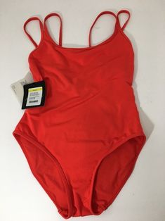 c2cd6acbe0 Red - Flame Jetset Double Strap Women's Swimsuit One-piece Bathing Suit  Size 8 (