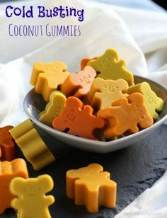 Cold Busting Coconut Gummies