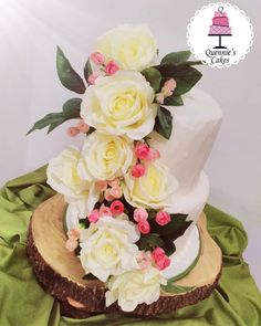 The Eye sweet competitor in the shape of a wedding cake is the only threat the bride has to compete with on her big day in looking great. Big Day, Wedding Cakes, Birthday Cake, Shapes, Bride, Sweet, Rustic Wedding, Desserts, Roses