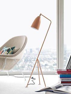 8 Super-Chic Modern Floor Lamps: Grasshopper Floor Lamp