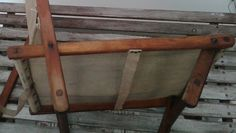 Vintage folding canvas camping chair 1940's bushcraft fishing WW2 re-enactment   eBay