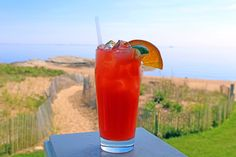 #TGIF!! Welcome in the weekend with a delicious cocktail and a spectacular view.