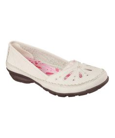 Another great find on #zulily! Natural Relaxed Fit® Flower Power Leather Loafer #zulilyfinds