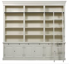 The White Wash LONDON BOOKCASE.  Show it in your Office / Library and stand the Book Collections in it.  We use Mahogany Wood for this.  #freeplans #livingroom #DIY #furniture