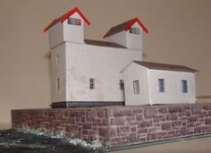 Two New Lighthouses Paper Models - by - Groupb - Faróis