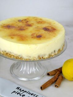 Tarta de crema catalana ¡Por menos de 3€! Sweet Recipes, Cake Recipes, Dessert Recipes, Köstliche Desserts, Delicious Desserts, Crema Recipe, Spanish Dishes, No Bake Cake, Sweet Treats