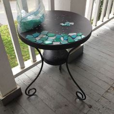 Patio Table Makeover