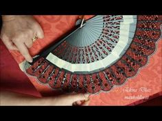 YouTube Lace Making, Bobbin Lace, Hand Fan, How To Make, Accessories, Youtube, Arizona, Restoration, Lace
