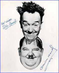 Laurel and Hardy - Autographs!