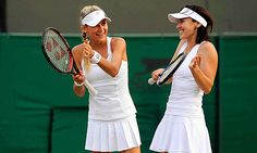 Anna Kournikova and Martina Hingis
