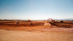 Static pan timelapse of a construction site on a mine while earthworks is in progress with heavy load machinery, trucks and tippers close to action. Hd Video, High Quality Images, Stock Footage, Monument Valley, Action, Construction, Trucks, Building, Group Action