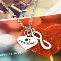 # 1 Grandma necklace New necklace. Silver toned, alloy material. Jewelry Necklaces