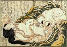 Hokusai, saw it for the first time in Bert Cooper's office on Mad Men....Will soon be my first tattoo's inspiration.