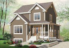Détail du plan de Maison unifamiliale W2795