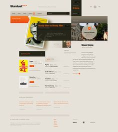 Sstardust | Designer: Anton Pikhorovich.  Category: Web Design / Graphics Design / User Interface (UI)