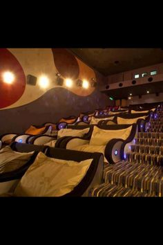 Website with cute rugs Theater room home theater complete with pillows. Theater room The Great Pantry Makeover Cuddle Movie Theater, At Home Movie Theater, Home Theater Rooms, Cinema Room, Dream Theater, Kids Theatre, Home Theatre, Home Movies, Dream Rooms