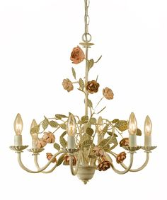 Ramblin' Rose Small Chandelier | Daily deals for moms, babies and kids