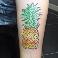 I want a watercolour pineapple tattoo for my next one, I just need to decide on placement...