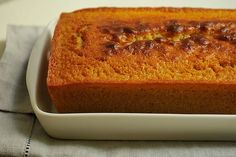 """Maple Yogurt Pound Cake. Because, you know, """"I've found the real thing is poundcake."""" ;')"""