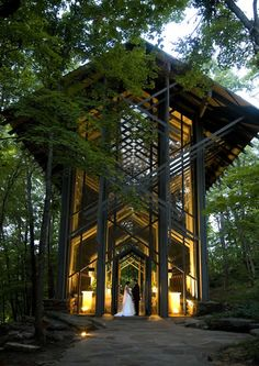 locations- thorncrown chapel