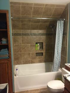Small Bathroom Designs Slanted Ceiling may bath renovation complete | nook, ceilings and bath