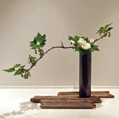 Imágenes de impresionante arte floral japonés