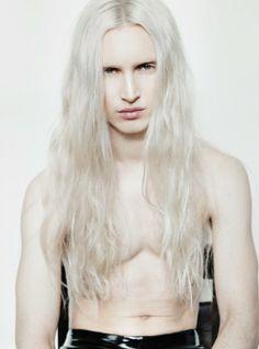 JOSE WICKERT. Platinum long haired men
