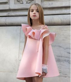 ea1086974 2018 New Autumn Winter Coat + Dress Two Piece Casual Baby Girl Dress ...
