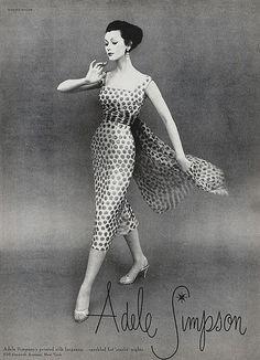 Vintage Couture, Vintage Glam, Mode Vintage, Vintage Vogue, Vintage Beauty, 1950s Fashion Women, Fifties Fashion, Retro Fashion, Vintage Fashion
