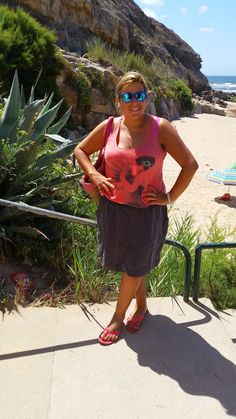 Mary's Big Closet: Beach Look #8