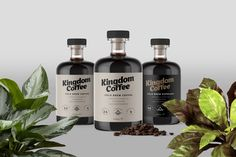 Kingdom Coffee on Packaging of the World - Creative Package Design Gallery