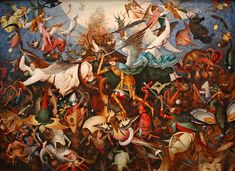 The Fall of the Rebel Angels  by Pieter Brueghel the Elder