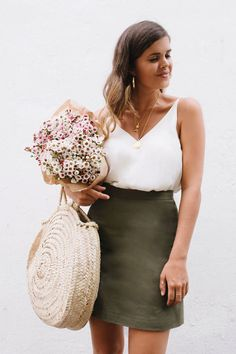 DIY: A-line skirt