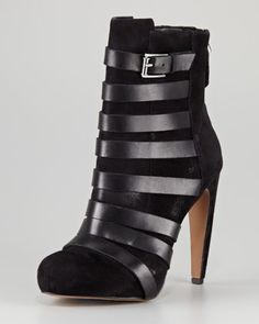 Kendrix Suede Ankle Boot by Sam Edelman at Neiman Marcus.