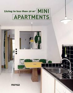 MINI APARTMENTS. Living in less than 50 m2 ISBN: 978-84-15829-99-7 / Layout: 18 x 23 cm / Pages: 144 / Cover: Hardcover / Designing a small home requires optimizing the space we have at our disposition as well as the creation of the most comfortable possible distribution. In this book we put together a selection of apartments and houses ranging from 150 ft2 to 538 ft2. We also show the current tendencies in apartment design and small size prefabricated homes both of which don´t lack any…