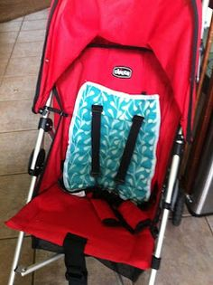 Mama Made Me: Stroller Seat Cooling Pad tutorial AND to cover up the car seat buckles and seat in the summer